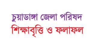 Chuadanga District / Zilla Parishad Foundation scholarship circular and result